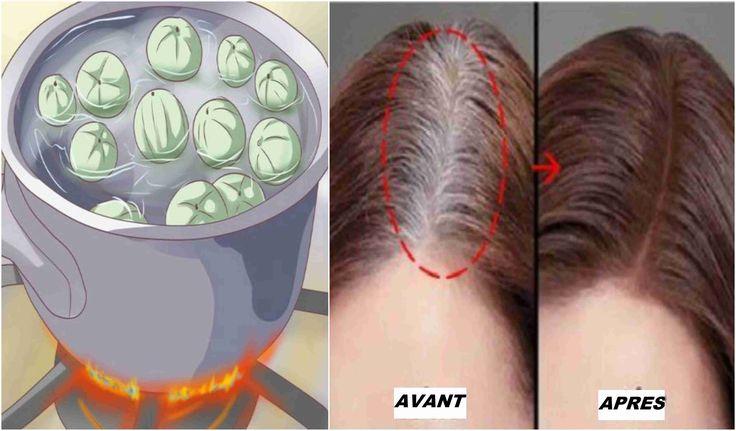Page suivante* Lavez vos cheveux comme d'habitude avec le shampooing en les revitalisants car les cheveux gris ont besoin d'être hydraté. * Utilisez l'eau de croûte de pommes de terre et l'appliquez sur vos cheveux en massant. Attention ne pas rincer les cheveux.  * Séchez et brossez vos cheveux comme vous le faites normalement, …