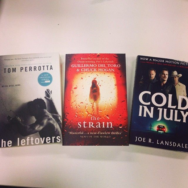 The books are always better... #TheStrain #TheLeftovers #ColdInJuly