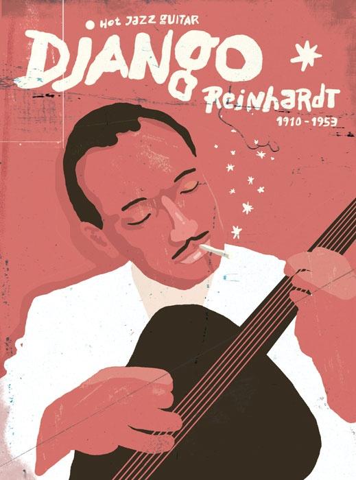 Zsolt Vidak  Django Reinhardt  portrait