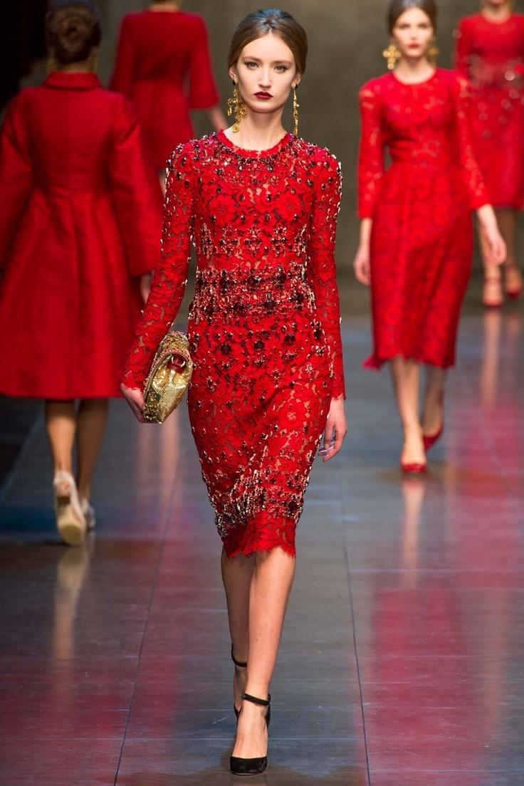 Dolce & Gabbana Ready-to-Wear A/W 2013 gallery - Vogue Australia