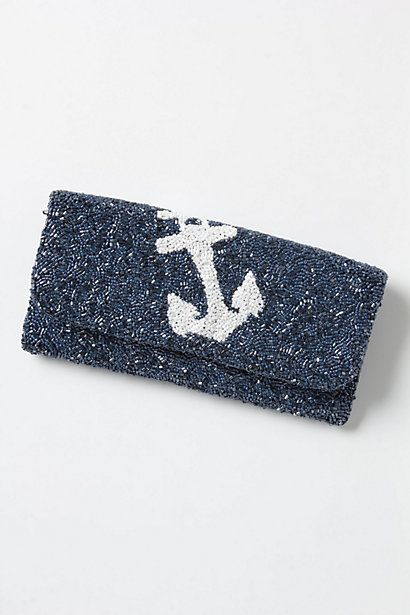 Anchor Twinkle Clutch