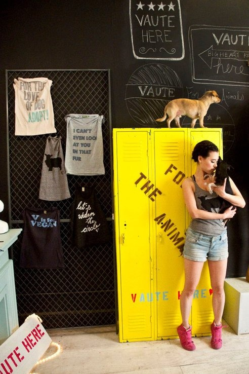 Vaute Couture opens flagship vegan fashion boutique in Brooklyn