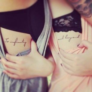 For your favourite playmate: | 56 Perfect Tattoos To Get With Your Friends
