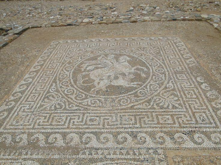 Olynthus Mosaics Mosaic Ancient Greece Tiles