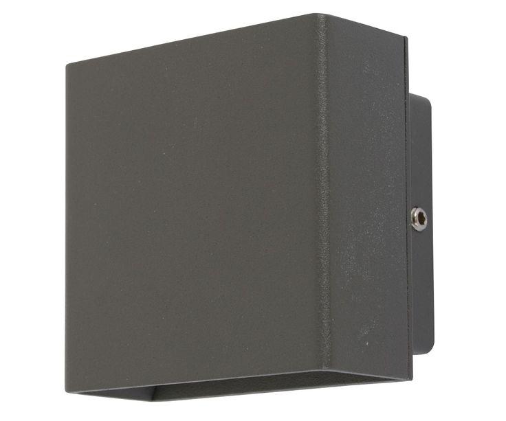 LEDlux Miles Wall Bracket in Charcoal | Alfresco Lighting | Outdoor Lighting | Lighting