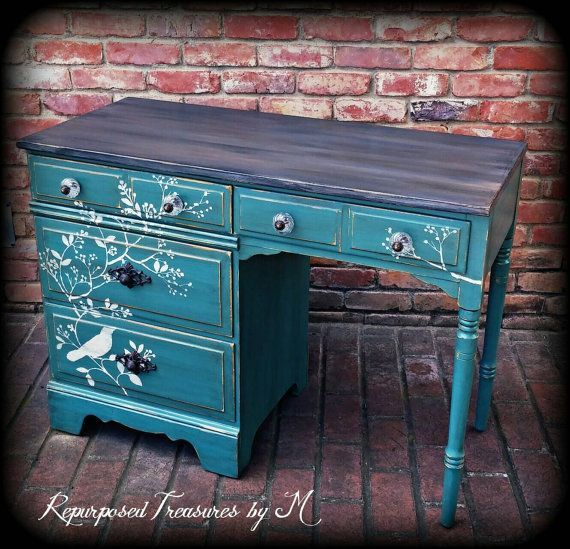best 20+ refinished desk ideas on pinterest | desk redo