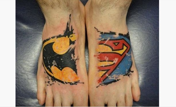 25 best superhero tattoo designs images on pinterest arm tattoos marvel tattoos and arm band. Black Bedroom Furniture Sets. Home Design Ideas