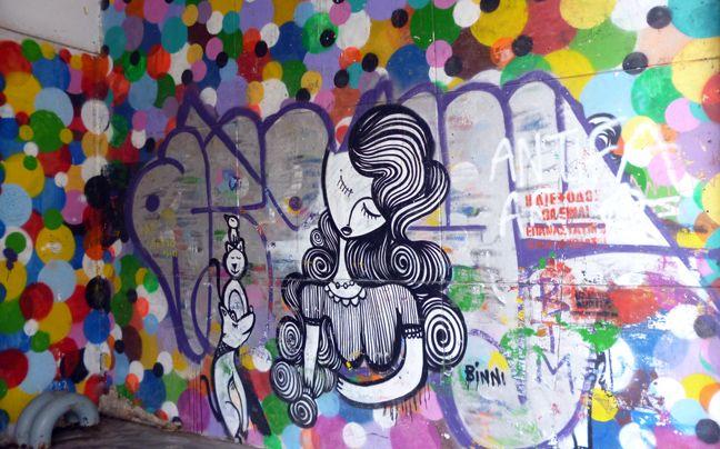 Newsbeast.gr | ΕΛΛΑΔΑ : Γκράφιτι, τέχνη του δρόμου ή βανδαλισμός