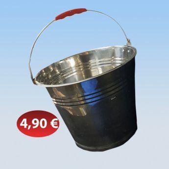 Μεταλλικός κουβάς 32 εκ. 4,90 €-Ευρω