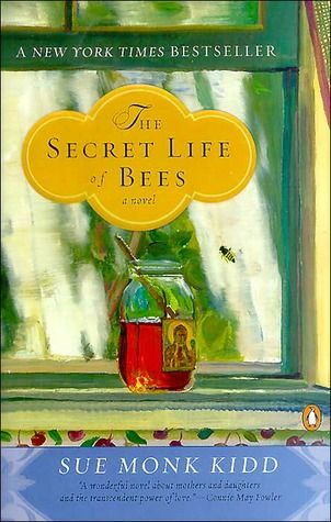 "The Secret Life of Bees by Sue Monk Kidd: ""...taken in by an eccentric trio of black beekeeping sisters, Lily is introduced to a mesmerizing world of bees, honey, and the Black Madonna who presides over their household..."""