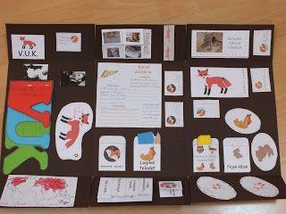 Gyereketető: Vuk olvasónapló - lapbook - az elkészítésről