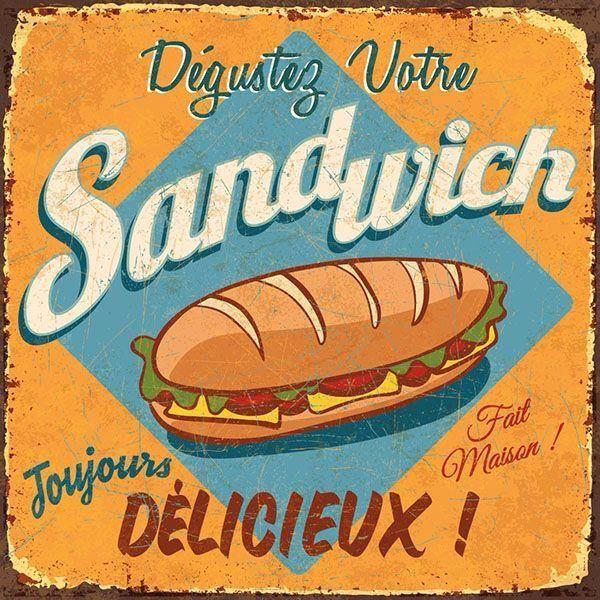 Resultado de imagem para poster para imprimir vintage hamburger pinterest