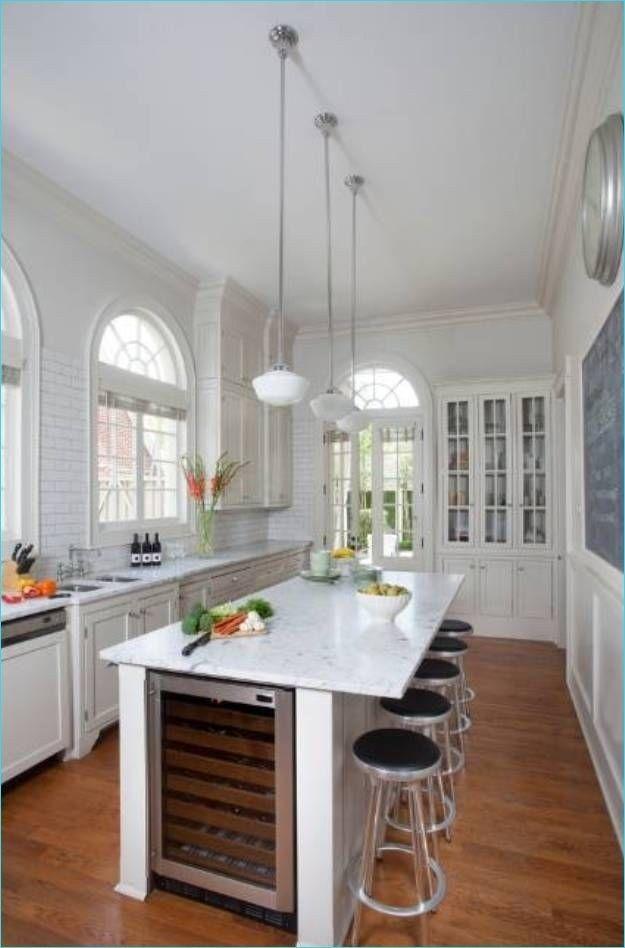 Narrow Kitchen Island With Seating 7 Decor Renewal Narrow Kitchen Island Kitchen Remodel Small Long Narrow Kitchen