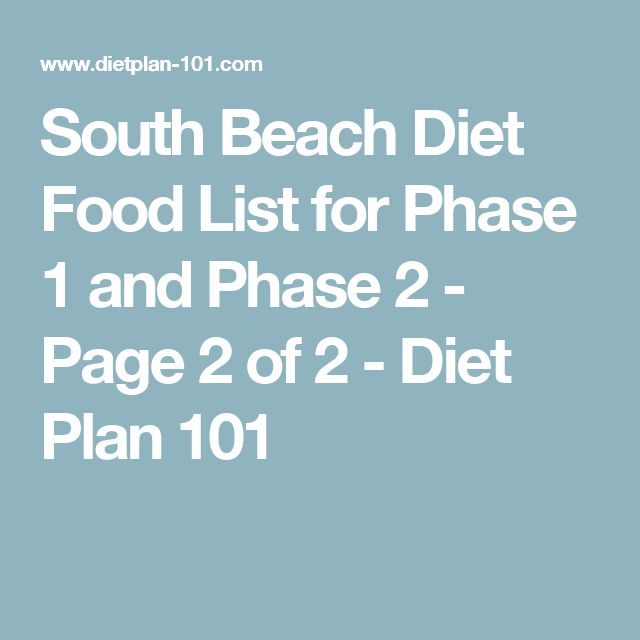 25+ best ideas about Southbeach diet phase 1 food list on ...