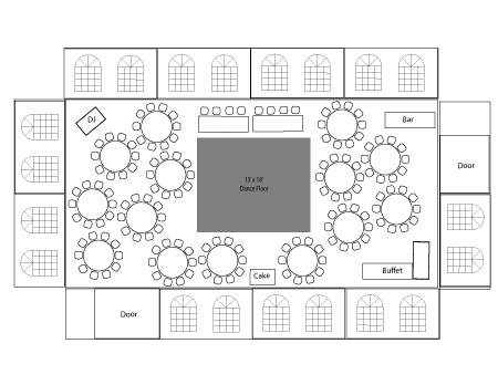 66 best wedding floor plans images on pinterest wedding for Table layout design