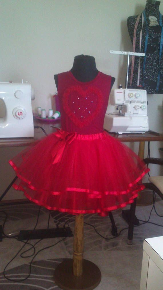 Комплект юбка пачка крассная фатиновая для девочки 8 лет.