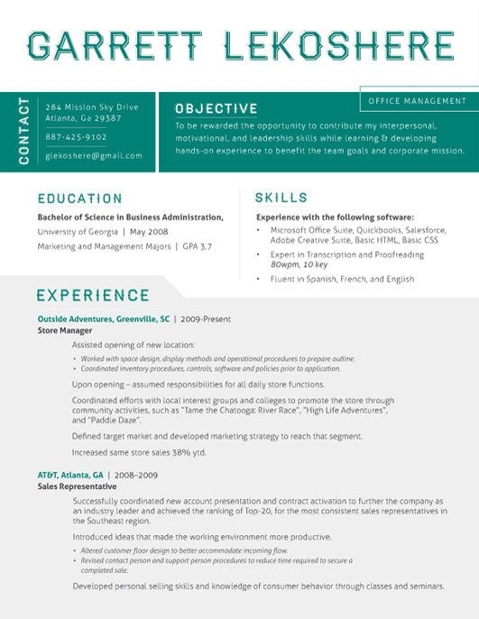1000+ images about Resume Templates on Pinterest  Resume, Resume templates and Resume cv
