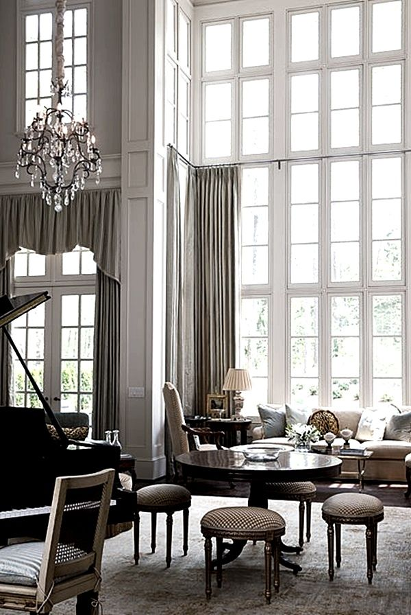 235 best images about draperies on pinterest window for Living room no windows