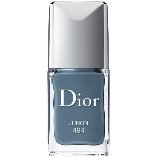 Dior Vernis Gel Shine & Long Wear Nail Lacquer found on Polyvore featuring beauty products, nail care, nail polish, nails, makeup, junon, shiny nail polish, christian dior, christian dior nail polish and gel nail color
