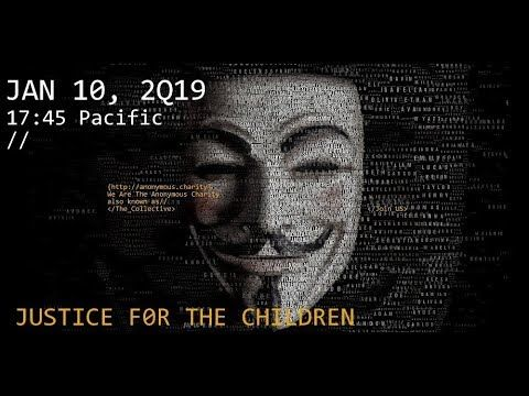 Anonymous  Update Jan 10, 2019  POTUS in contRol  Justice