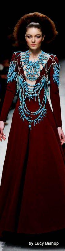 Julien Fournié Spring Summer Haute Couture 2015/16 ~ PFW