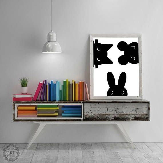 https://www.etsy.com/ca/listing/549113593/black-and-white-baby-animals-nursery