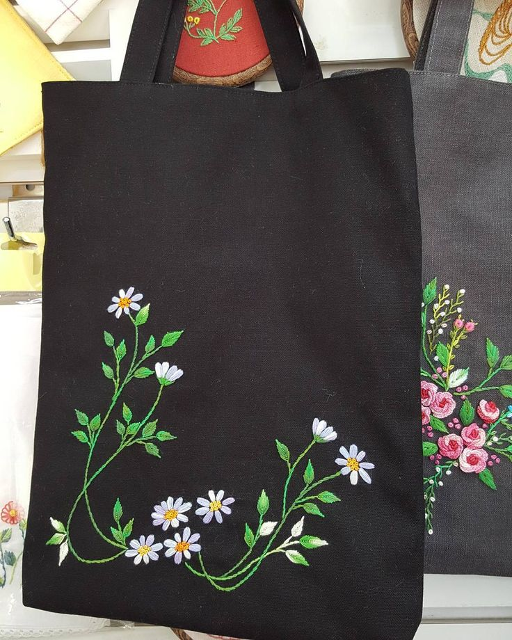 148 Best Images On Pinterest Embroidery Tote Bag And Sew