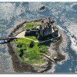 Величественный и романтичный замок Эйлен Донан в Шотландии