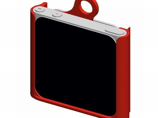 Ipad nano 6gen keychain hard case. 3d printed