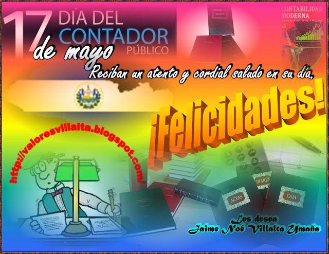 Valores morales y cívicos: Día del Contador en El Salvador
