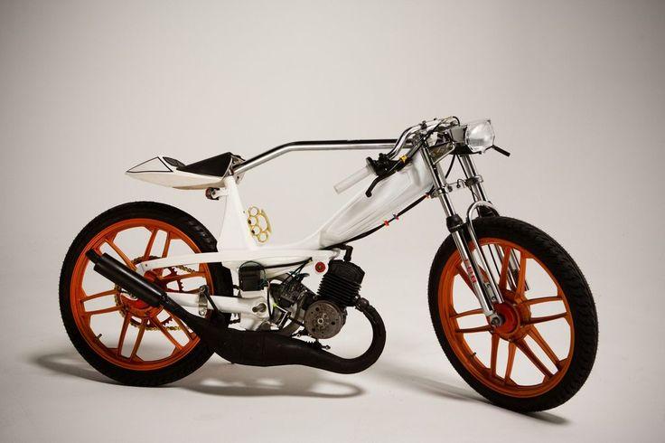1978 Motobecane Moped.