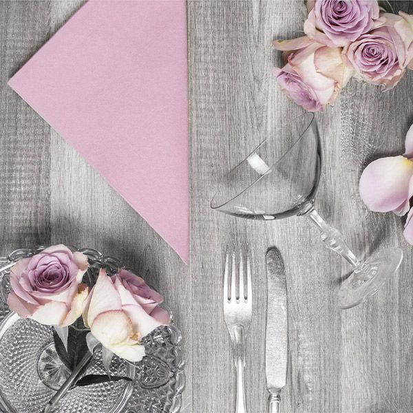 Soft pink is a beautiful romantic nuance - perfect for valentines day