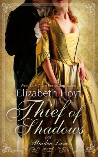Meet the Ghost of St Giles - a kind of Georgian Batman!  The Thief of Shadows: (#4 Maiden Lane series) by Elizabeth Hoyt