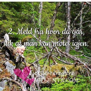 Alle bør legge ut på sjekking i fjellet uten trening, mener Den Norske Turistforening. 💕 I 1967 innførte Den Norske Turistforening og Røde Kors Fjellvettregle