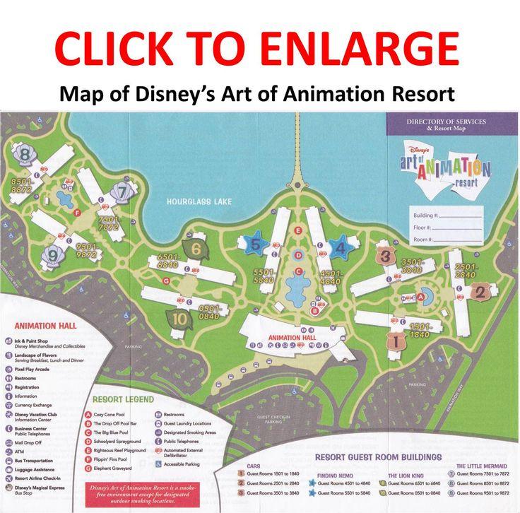 The Little Mermaid Section Of Disneys Art Animation Resort BLDG 7