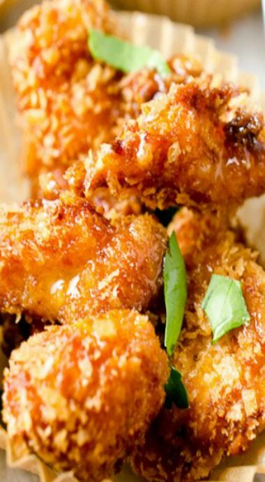 Chipotle Popcorn Chicken & Honey Mayo