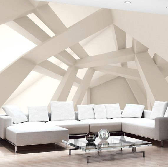 Photo Wallpaper Wall Murals Non Woven 3D Modern Art Optical Illusion Abstract Wall Decals Bedroom Decor Home Design Wall Art Decals 229