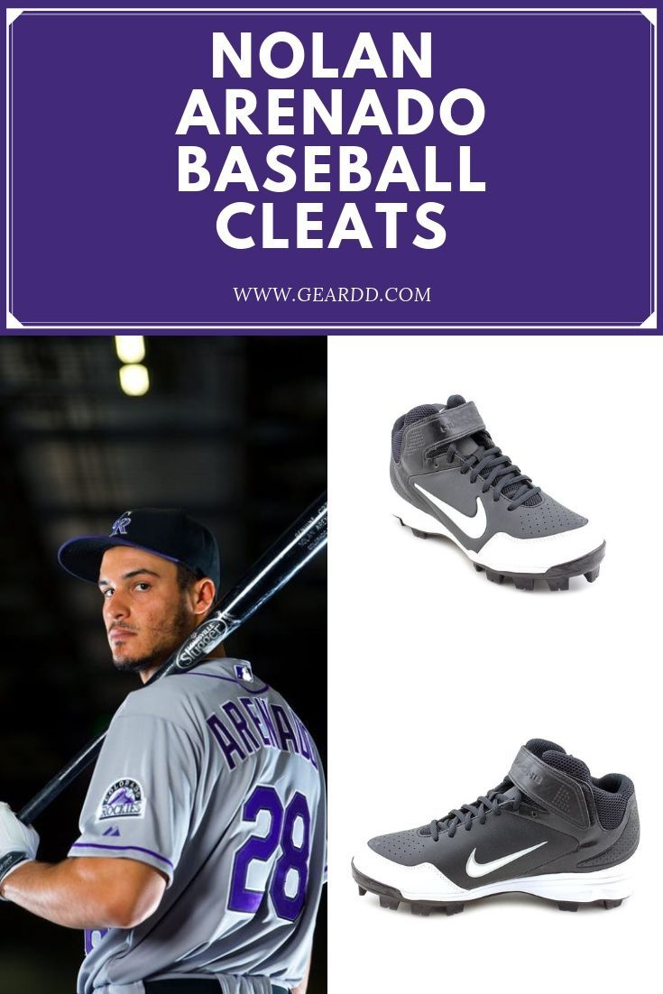 Nolan Arenado Colorado Rockies Major League Baseball Players Baseball Gear Baseball Cleats