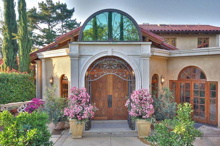 Best 25 Mediterranean Front Doors Ideas On Pinterest