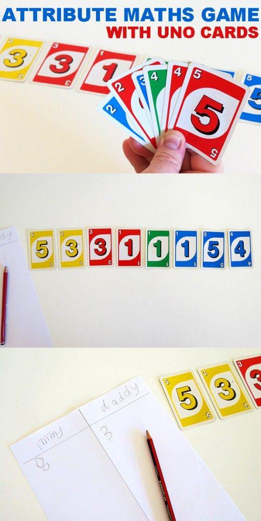 35 best UNO Maths Games images on Pinterest   Math games, Maths and ...