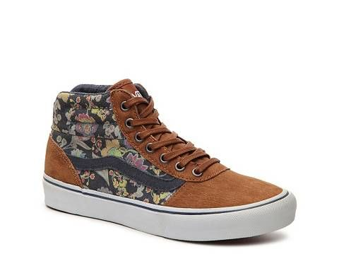 Vans Milton Hi Floral High-Top Sneaker - Womens