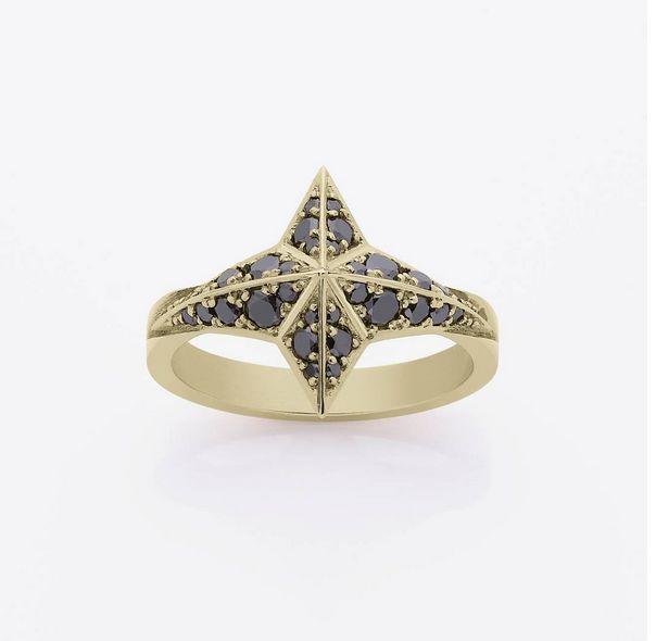 Pave Star ring  www.meadowlarkjewellery.com