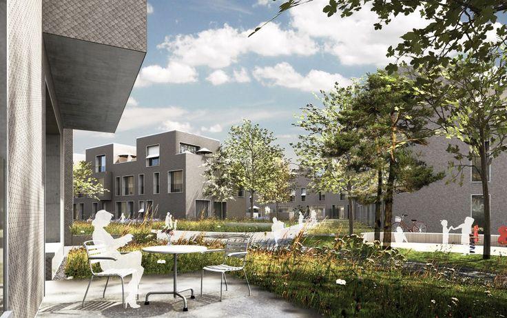 Neubau Wohnüberbauung schorenstadt - Burckhardt+Partner