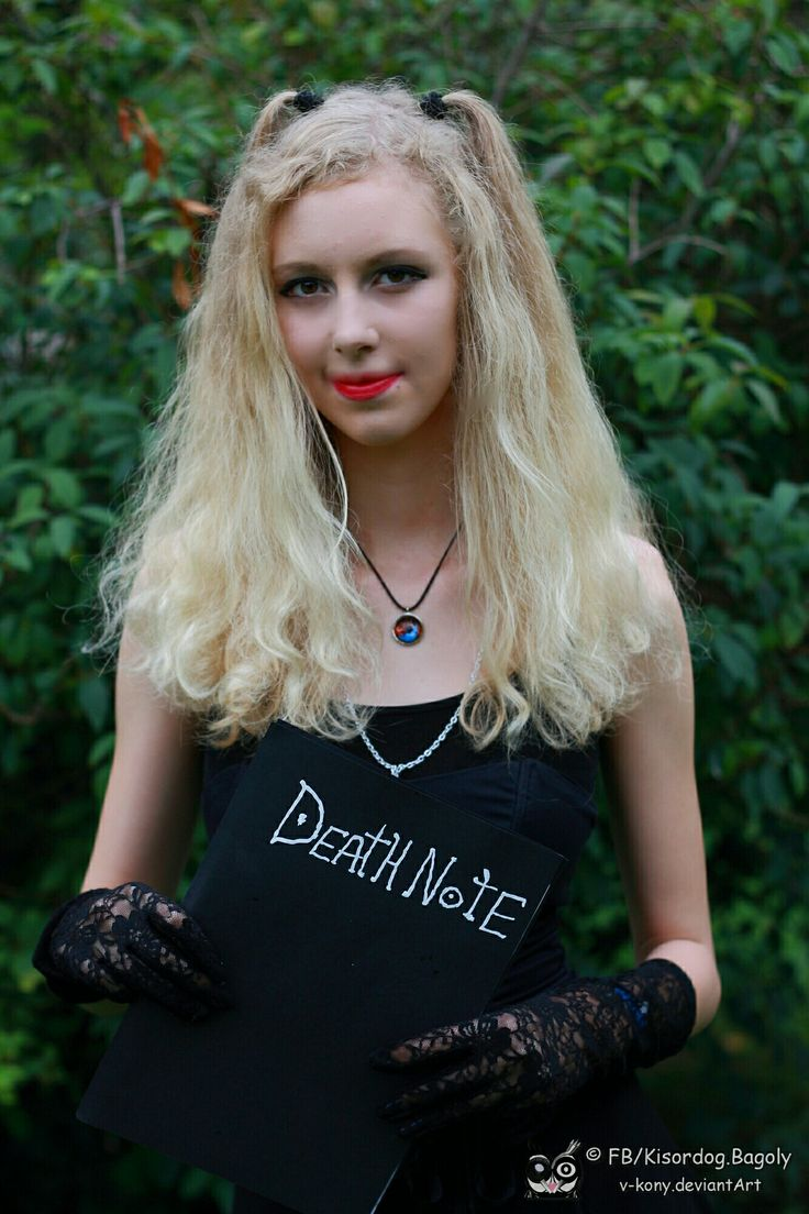 My first Amane Misa cosplay in Death Note
