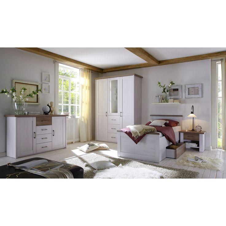 Die besten 25 bett 100x200 ideen auf pinterest - Komplett schlafzimmer luca ...