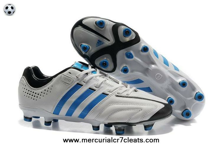 2014 Adidas Adipure 11Pro TRX FG Running White-Bright Blue-Black