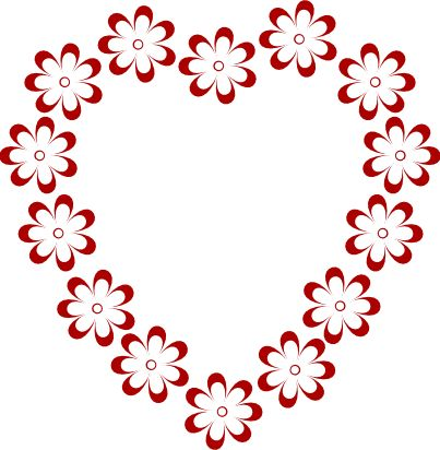 valentines Borders and Frames transparent | Border Clipart | Free Clip Art  from Pixabella