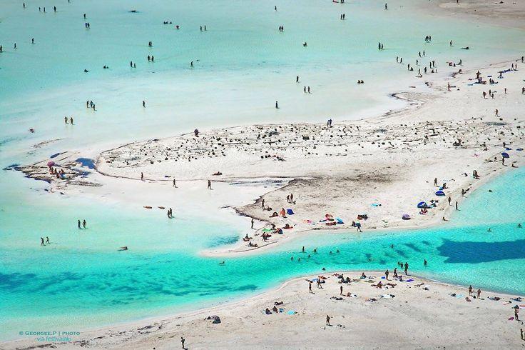 Balos Lagoon, Kissamos, Chania, Crete, Greece