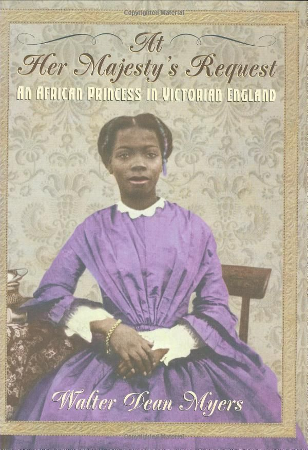 At Her Majesty's Request: An African Princess in Victorian England: Walter Dean Myers: 9780590486699: Amazon.com: Books