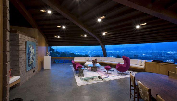 Chemosphere Malin Residence Los Angeles California Architect John Lautner